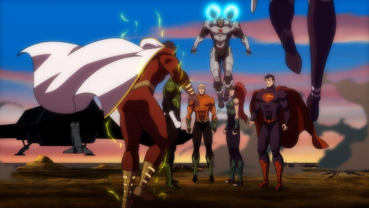 Justice League: Throne of Atlantis 4