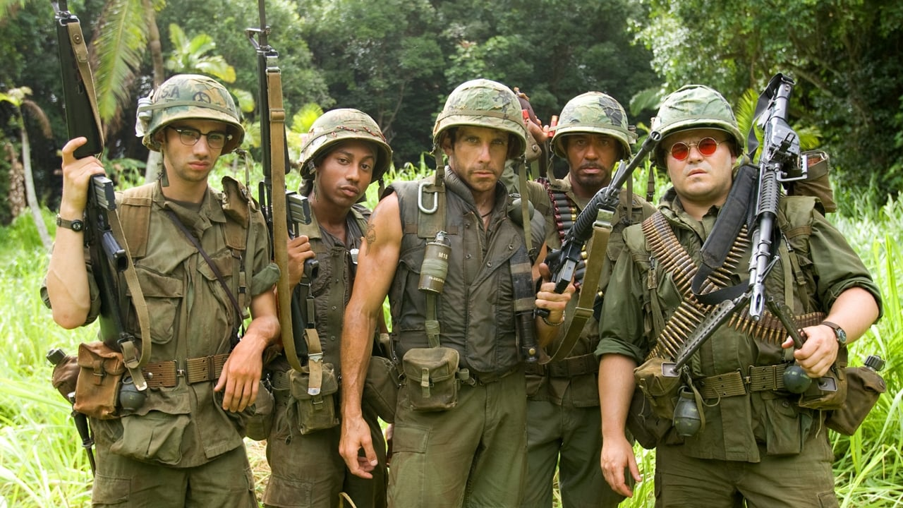 Tropic Thunder: Una Guerra de Película