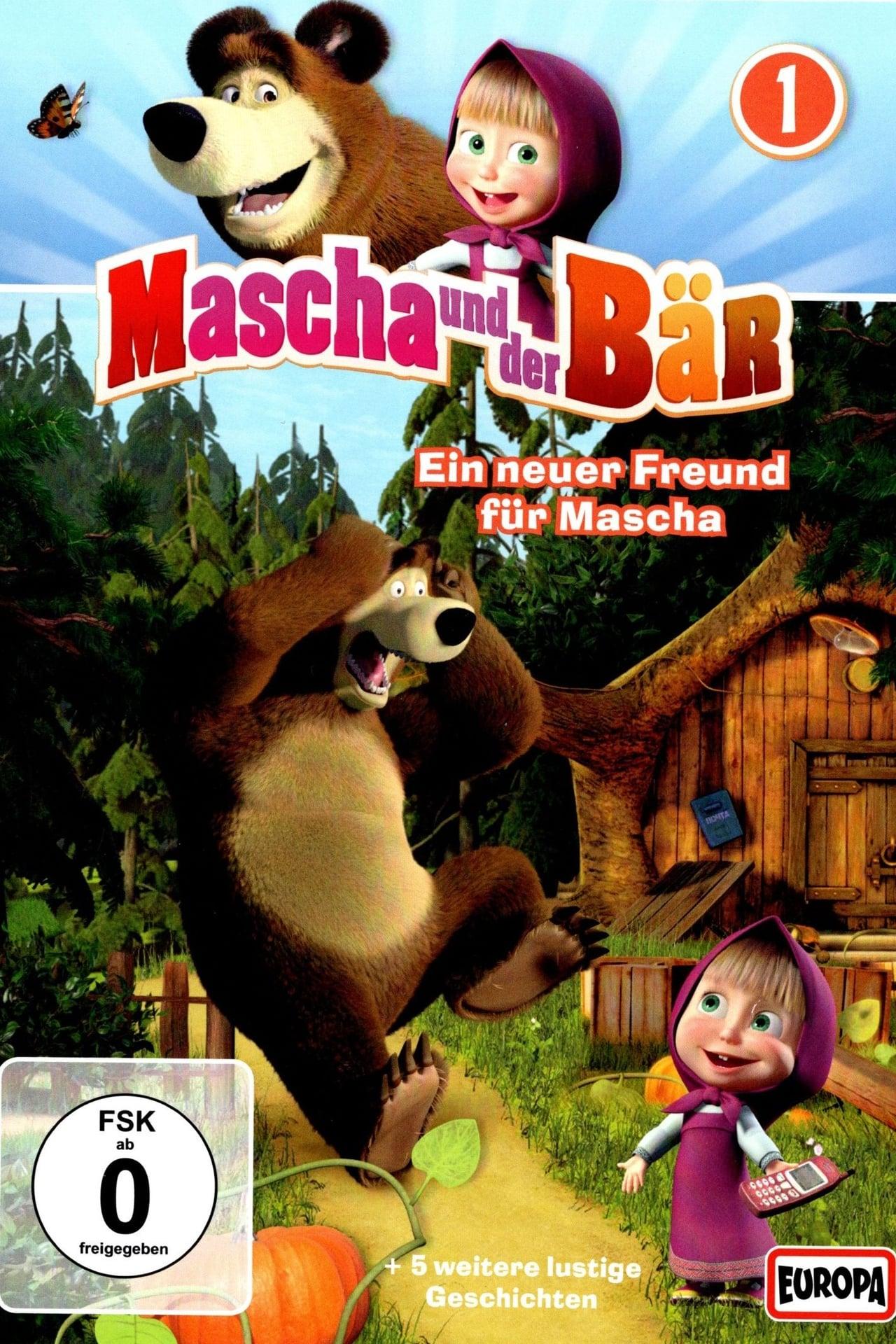 mascha und der bär waschtag