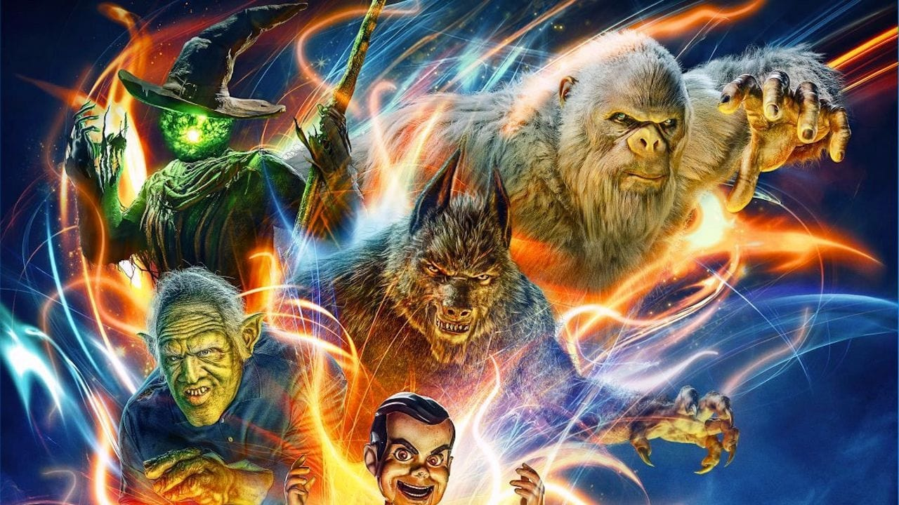 In the Goosebumps 2 Haunted Halloween trailer a new group of kids including It breakout Jeremy Ray Taylor accidentally unleash RL Stines haunted books