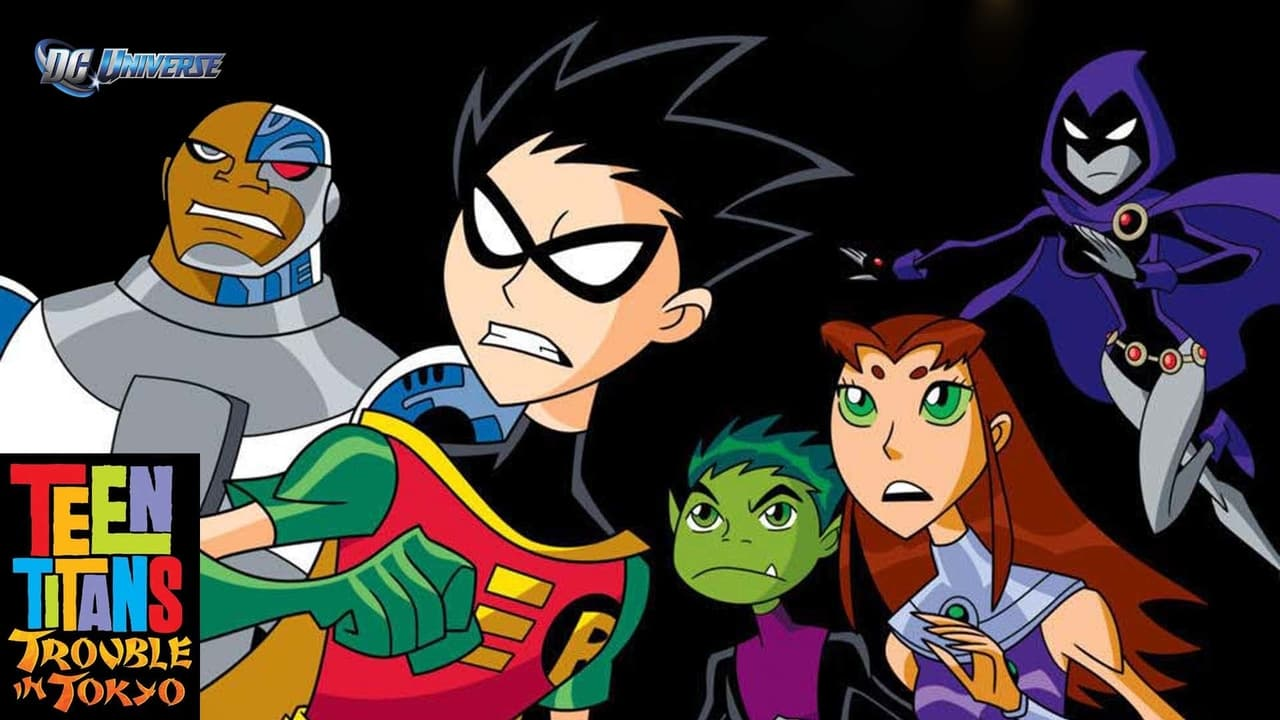 cover-Los Teen Titans se van a Tokio