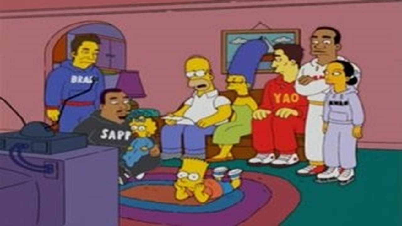 The Simpsons - Season 16 Episode 8 : Homer and Ned's Hail Mary Pass