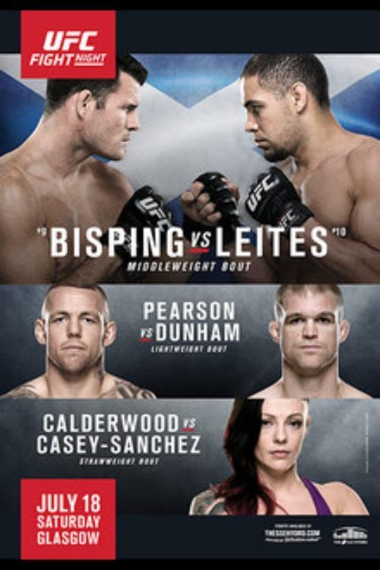 UFC Fight Night 72: Bisping vs. Leites