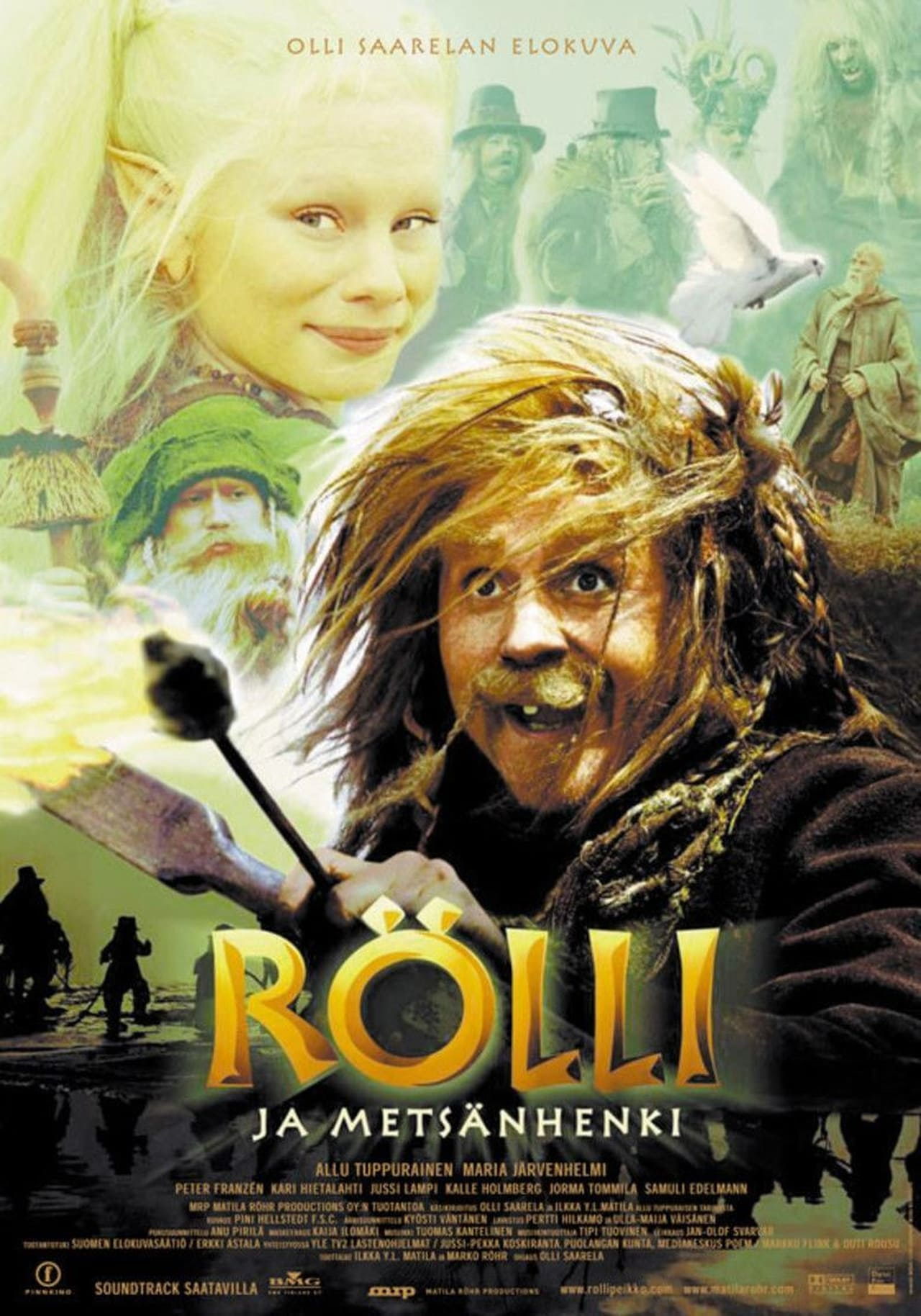 Rollo and the Spirit of the Woods