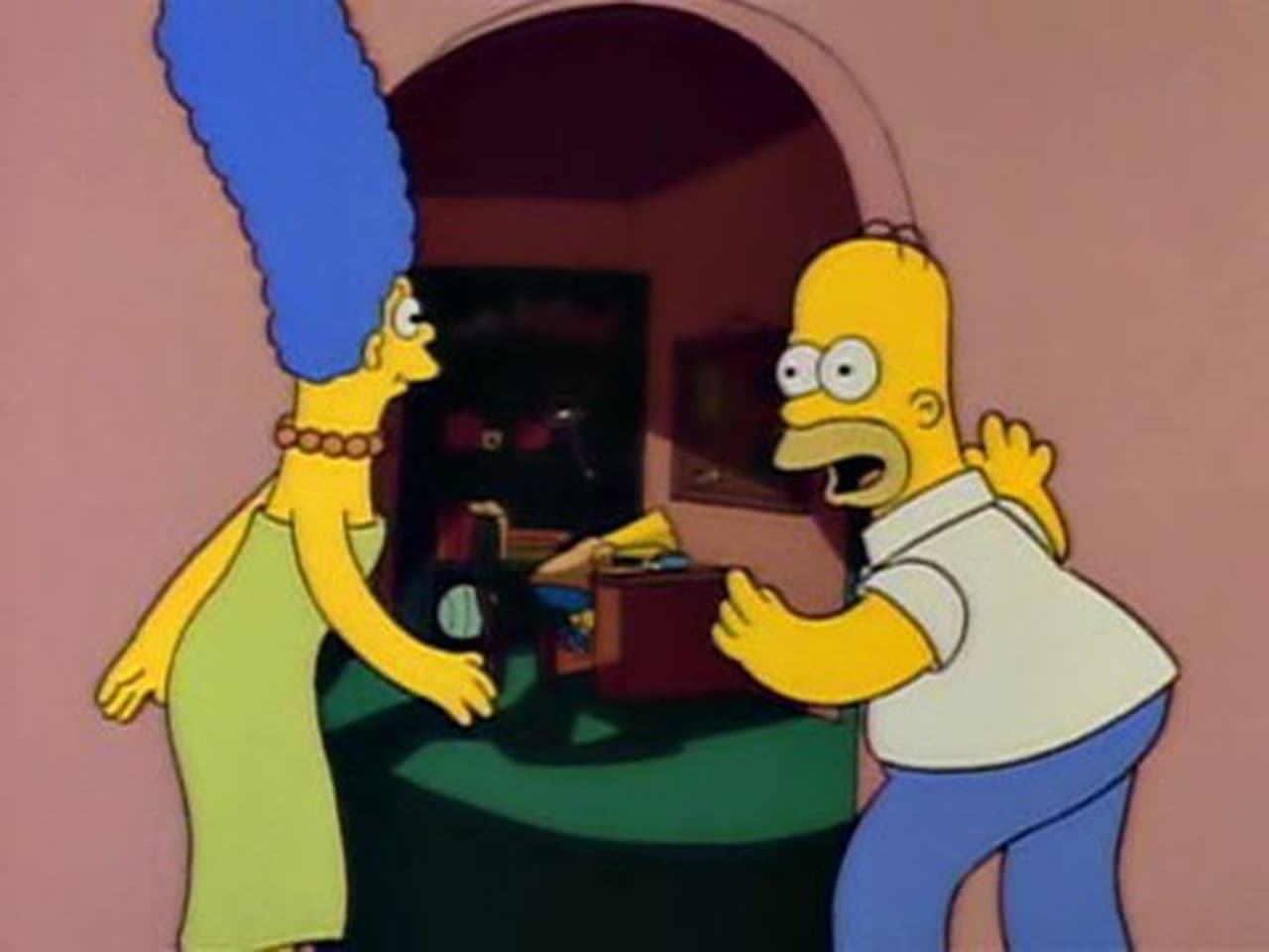 The Simpsons - Season 2 Episode 1 : Bart Gets an F