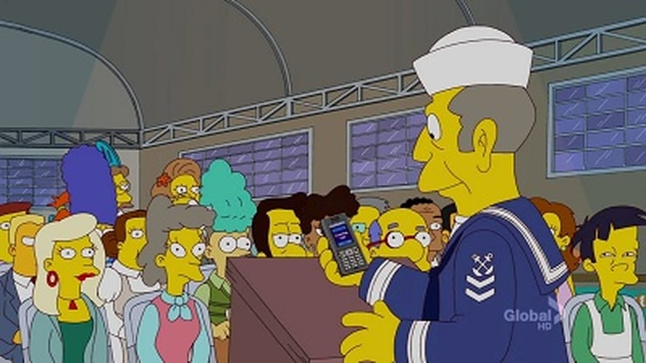 The Simpsons - Season 23 Episode 2 : Bart Stops to Smell the Roosevelts