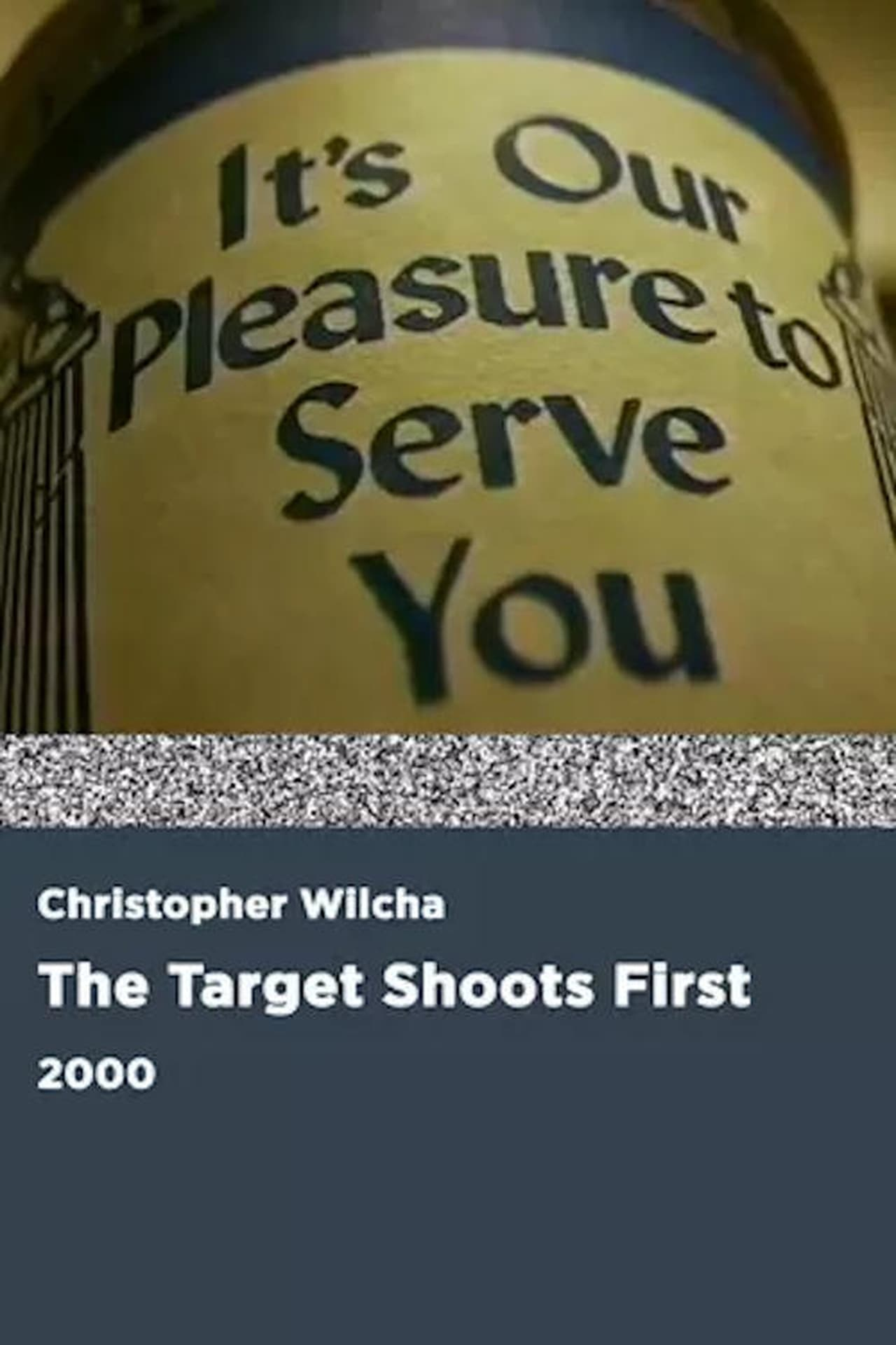 The Target Shoots First