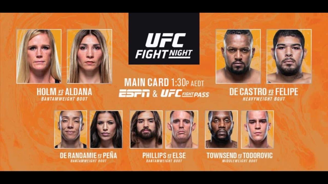 UFC on ESPN 16: Holm vs. Aldana 2