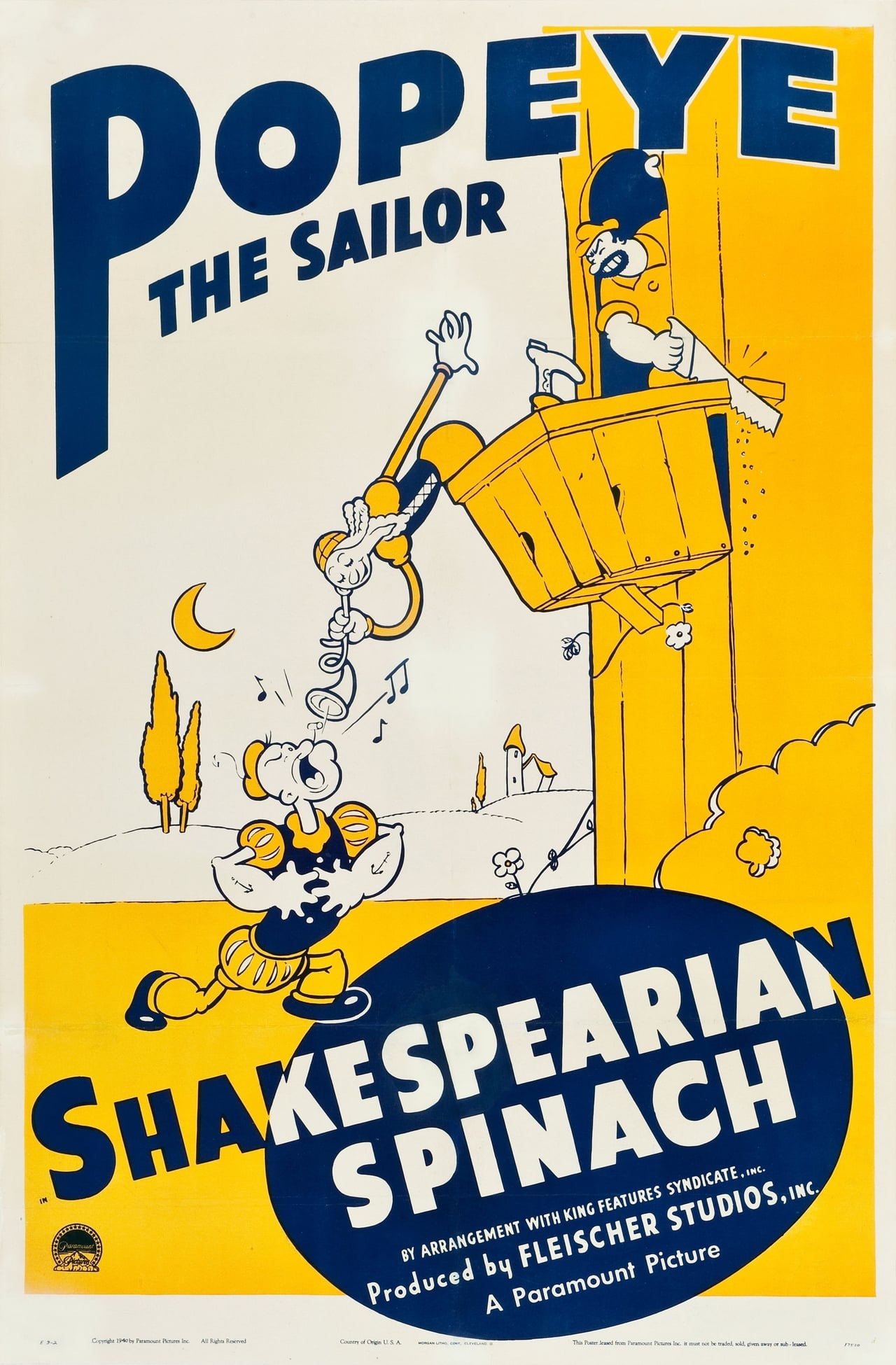 Shakespearian Spinach (1940)