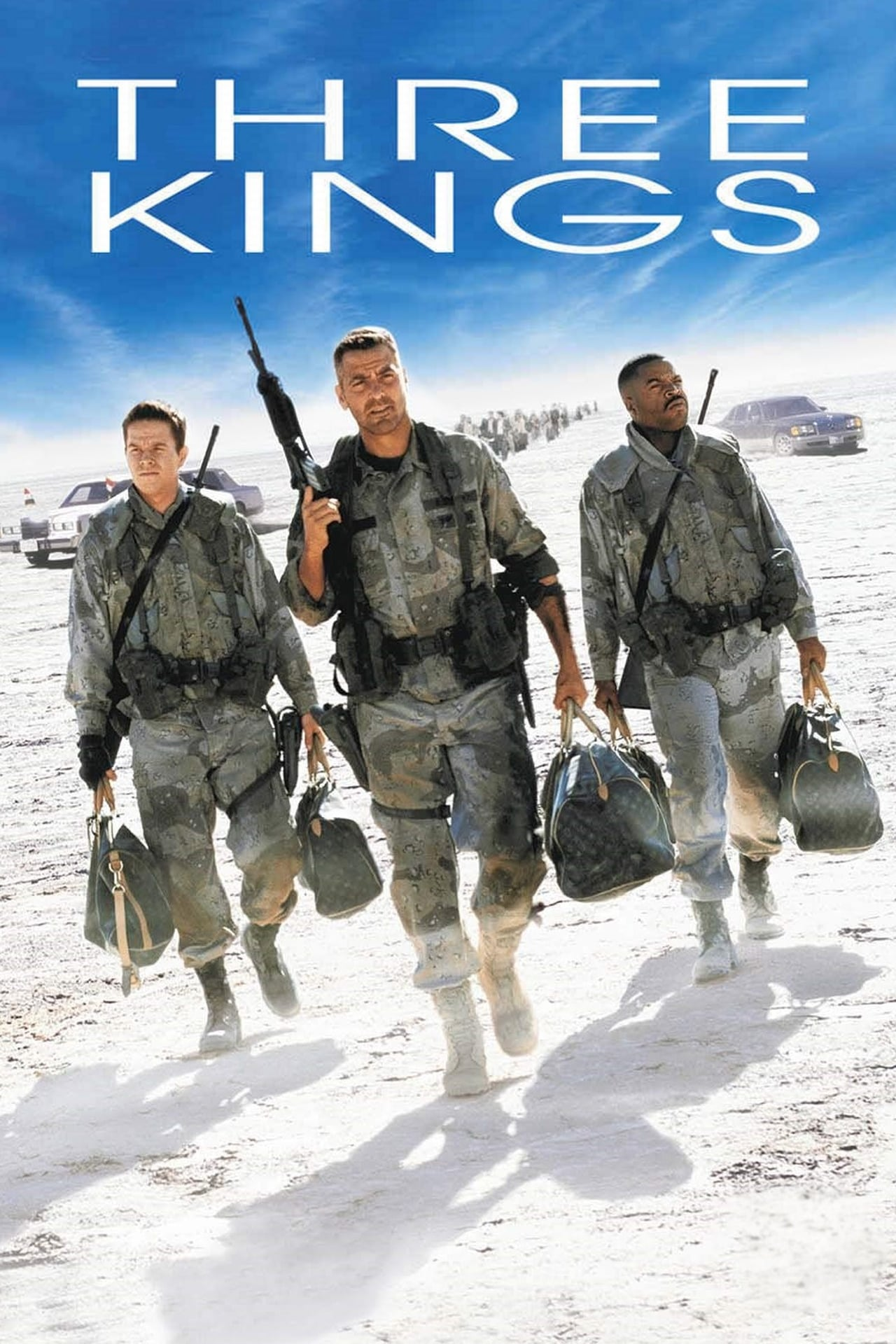 Download Three Kings (1999) Dual Audio [Hindi-English] 480p [400MB] | 720p [800MB] | 1080p [1.6GB]