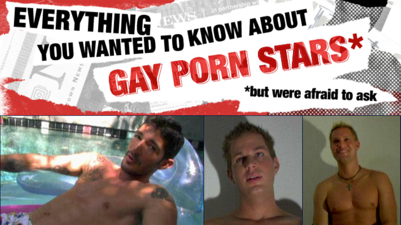 Everything You Always Wanted To Know About Gay Porn Stars