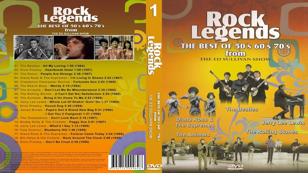 Image of: Live Rock Legends the Best Of 50s 60s 70s From The Ed Sullivans Show Vol Themovielistnet Rock Legends the Best Of 50s 60s 70s From The Ed Sullivans Show