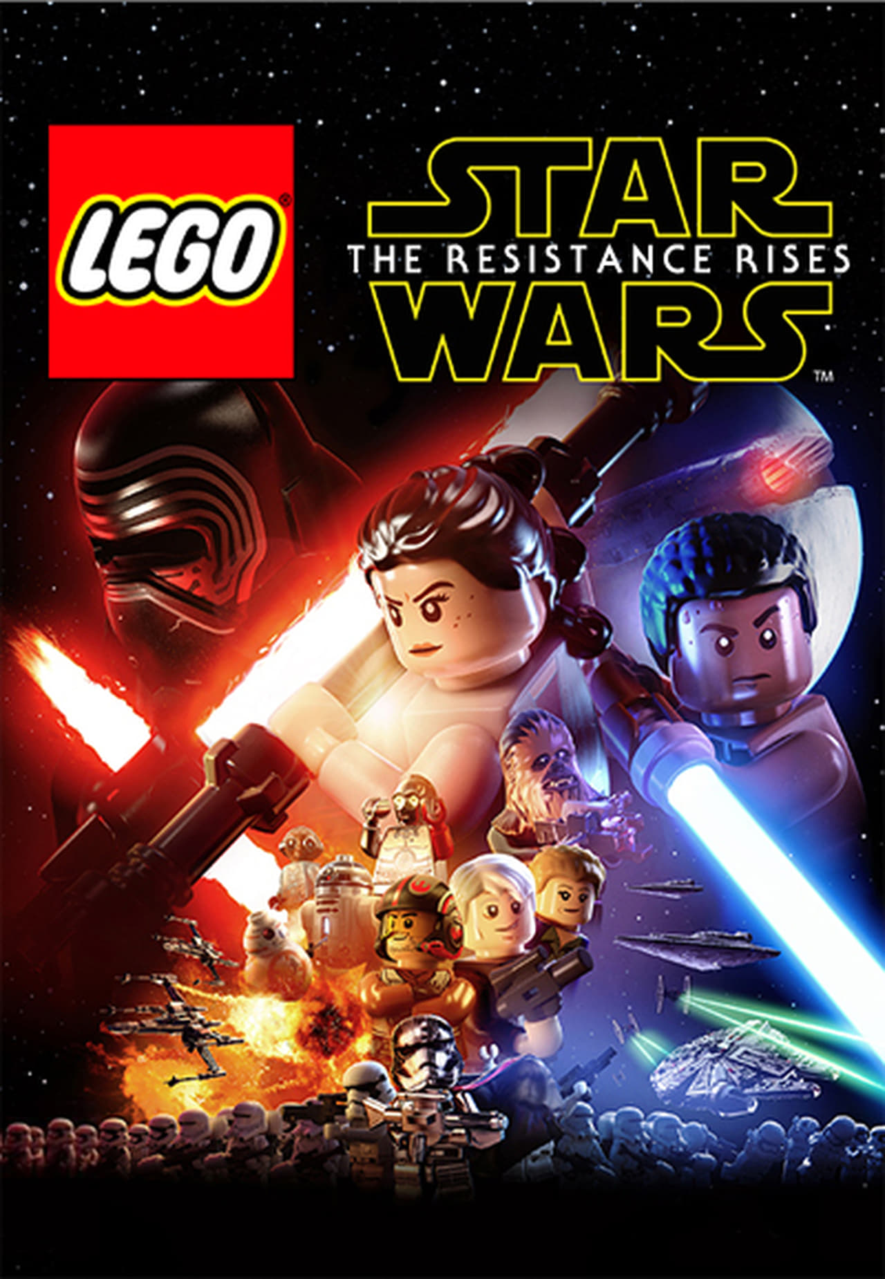 LEGO Star Wars: The Resistance Rises (2016)