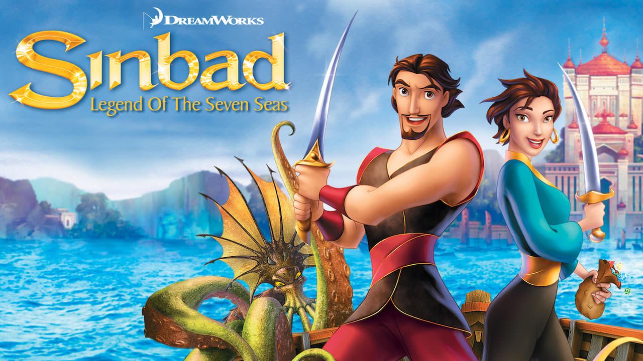 cover-Simbad: La leyenda de los siete mares
