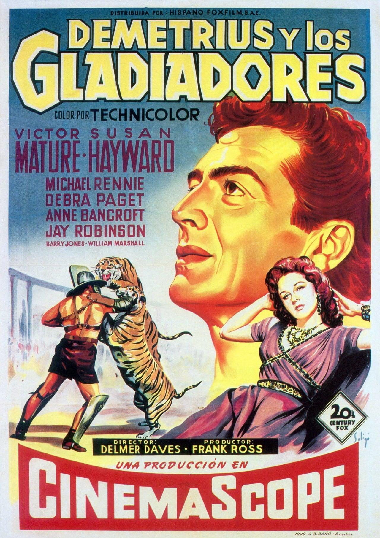 Ver Demetrius Y Los Gladiadores 1954 Online Latino Hd Pelisplus