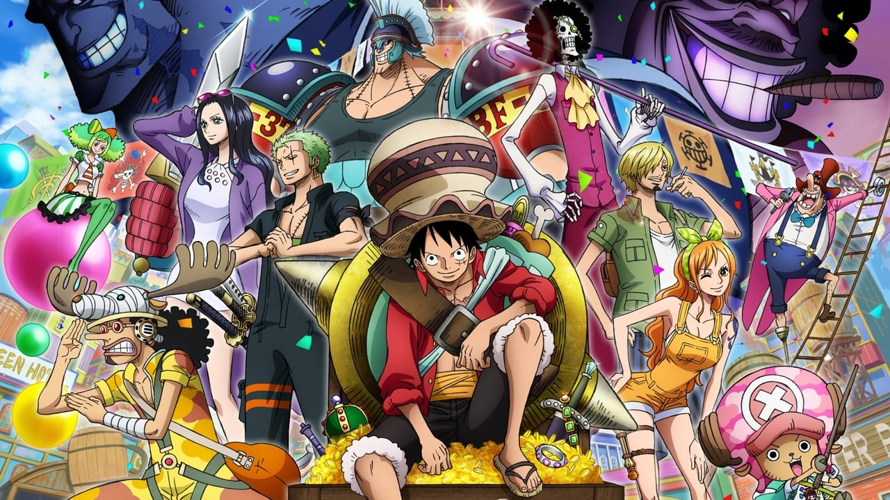cover-One Piece: estampida