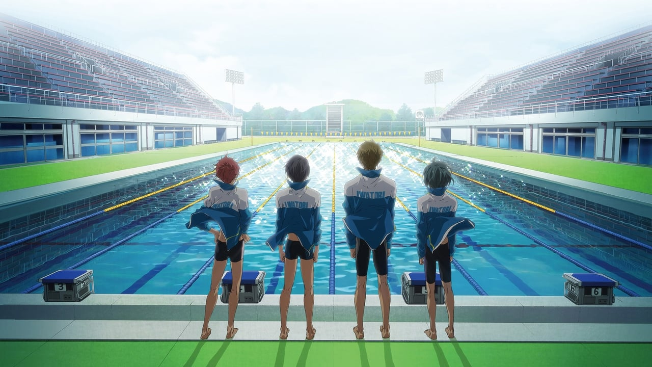 ハイ☆スビード!Free! Starting Days backdrop