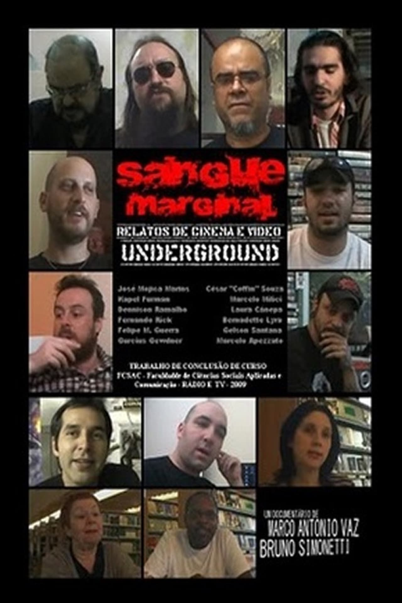 Sangue Marginal - Relatos de Cinema e Vídeo Underground
