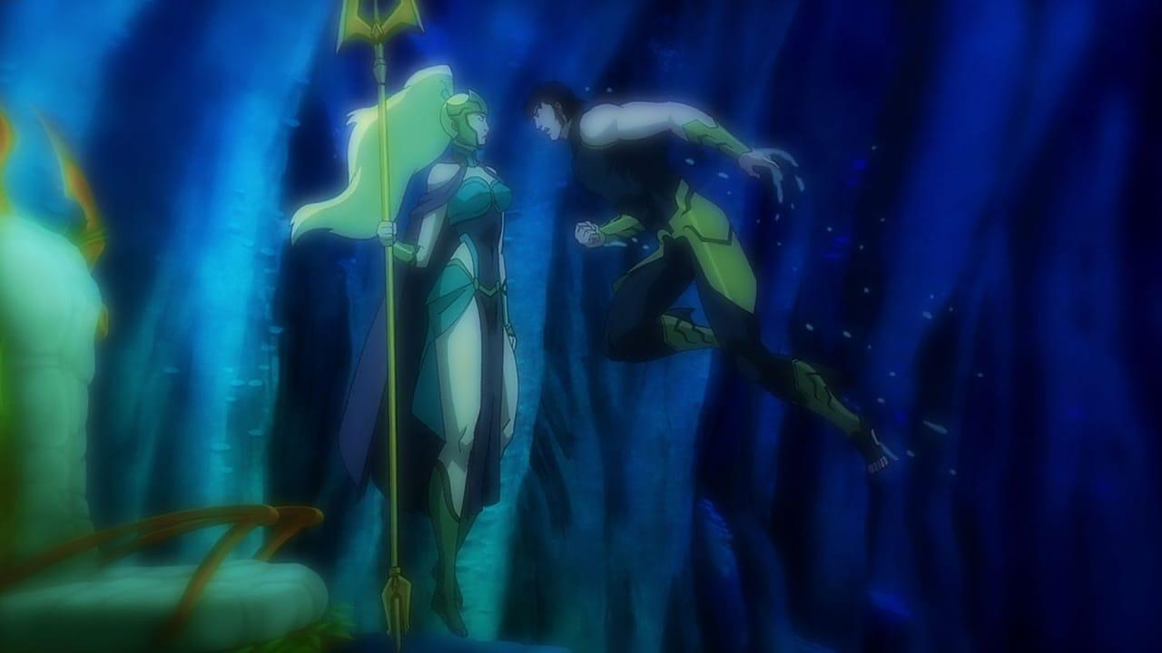 Justice League: Throne of Atlantis 1