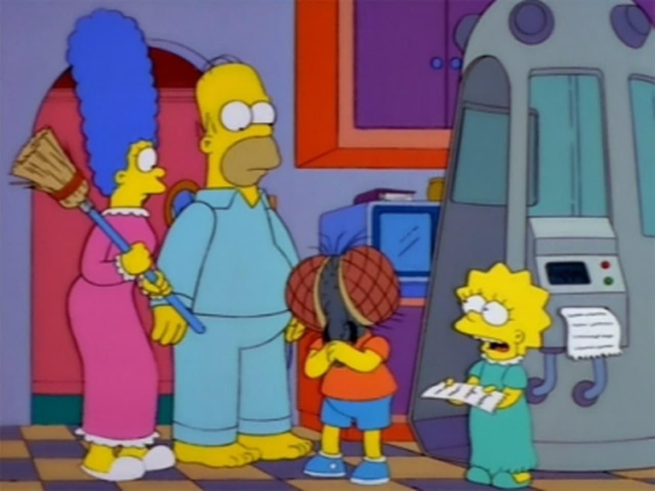 The Simpsons - Season 9 Episode 4 : Treehouse of Horror VIII