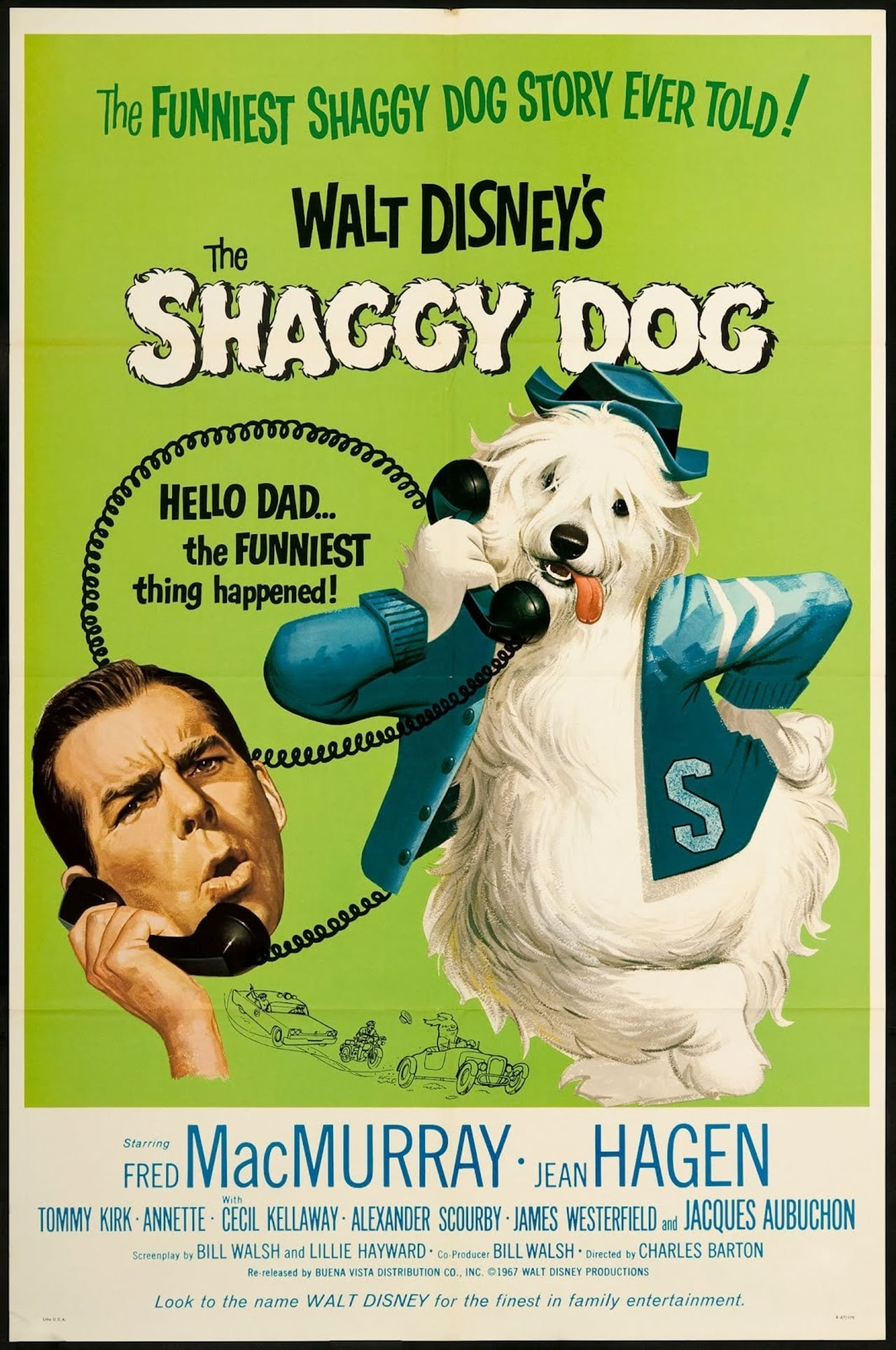 The Return Of The Shaggy Dog Full Movie