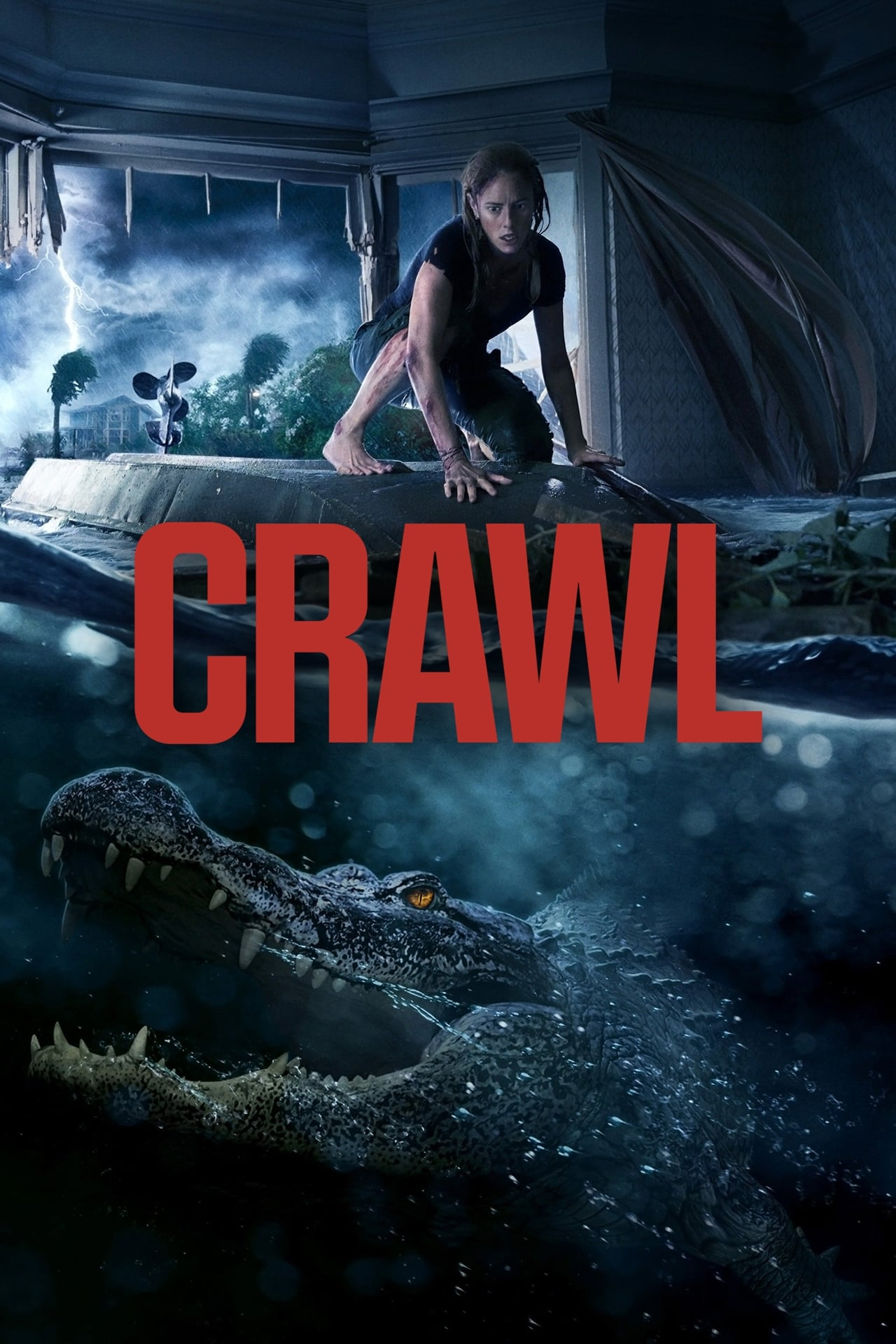 Download Crawl (2019) Dual Audio {Hindi-English} 480p [400MB] || 720p [800MB] || 1080p [2GB]