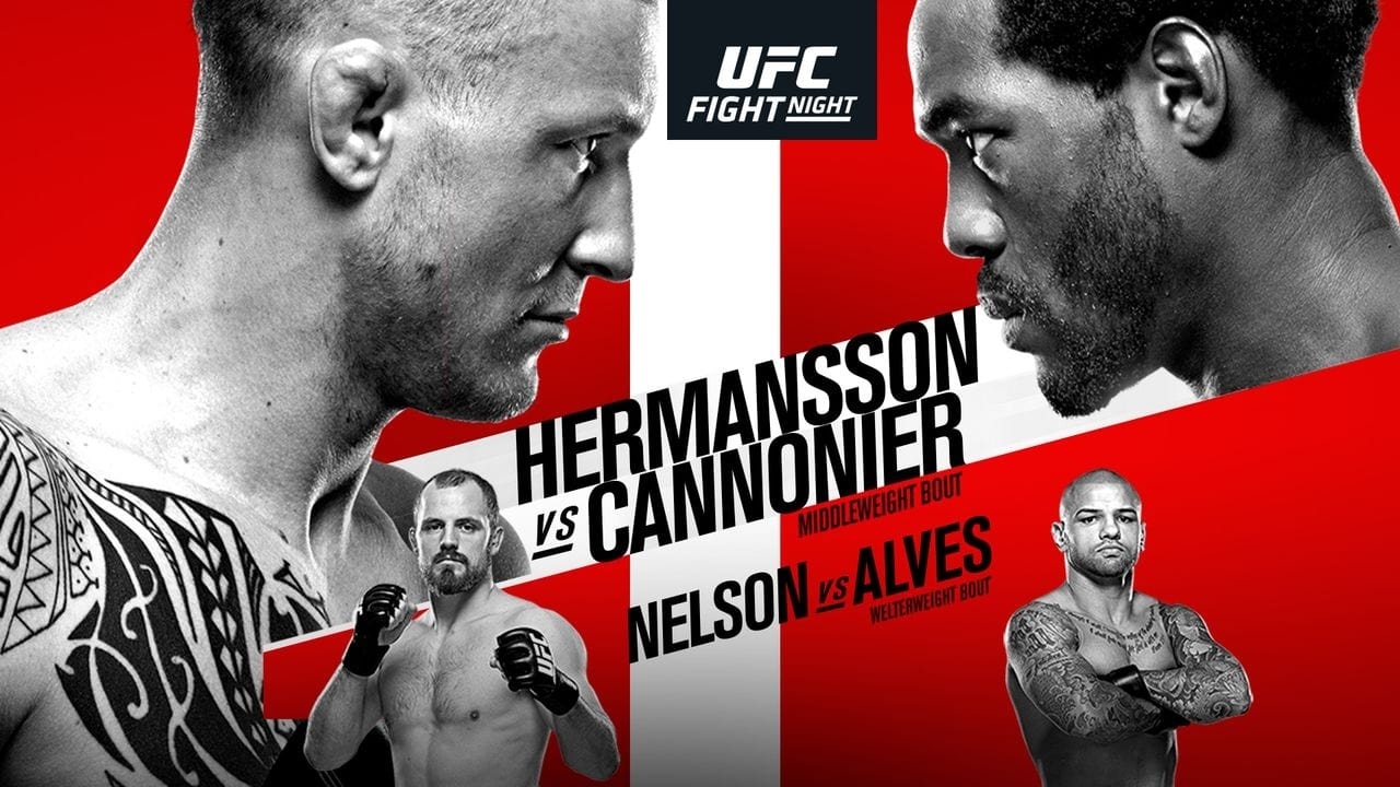 UFC Fight Night 160: Hermansson vs. Cannonier