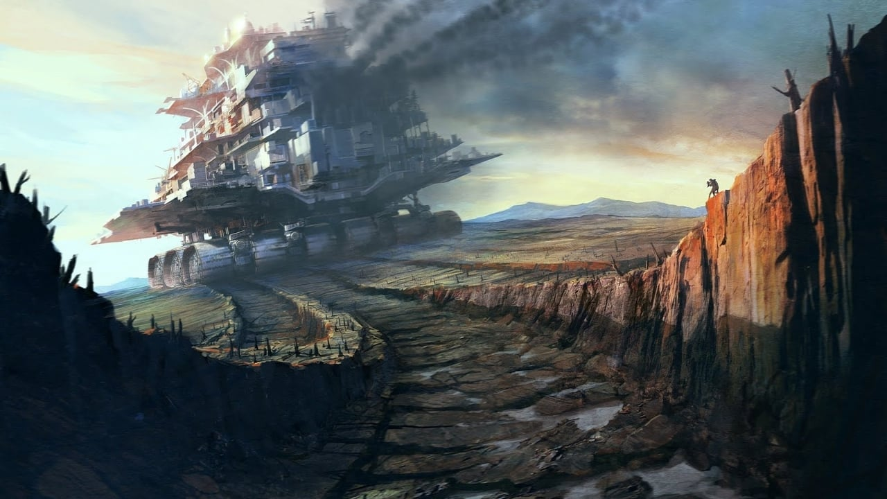 cover-Mortal Engines
