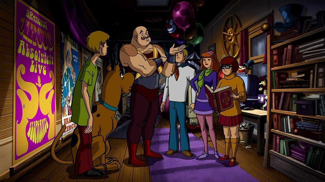 cover-Scooby-Doo. Big Top!