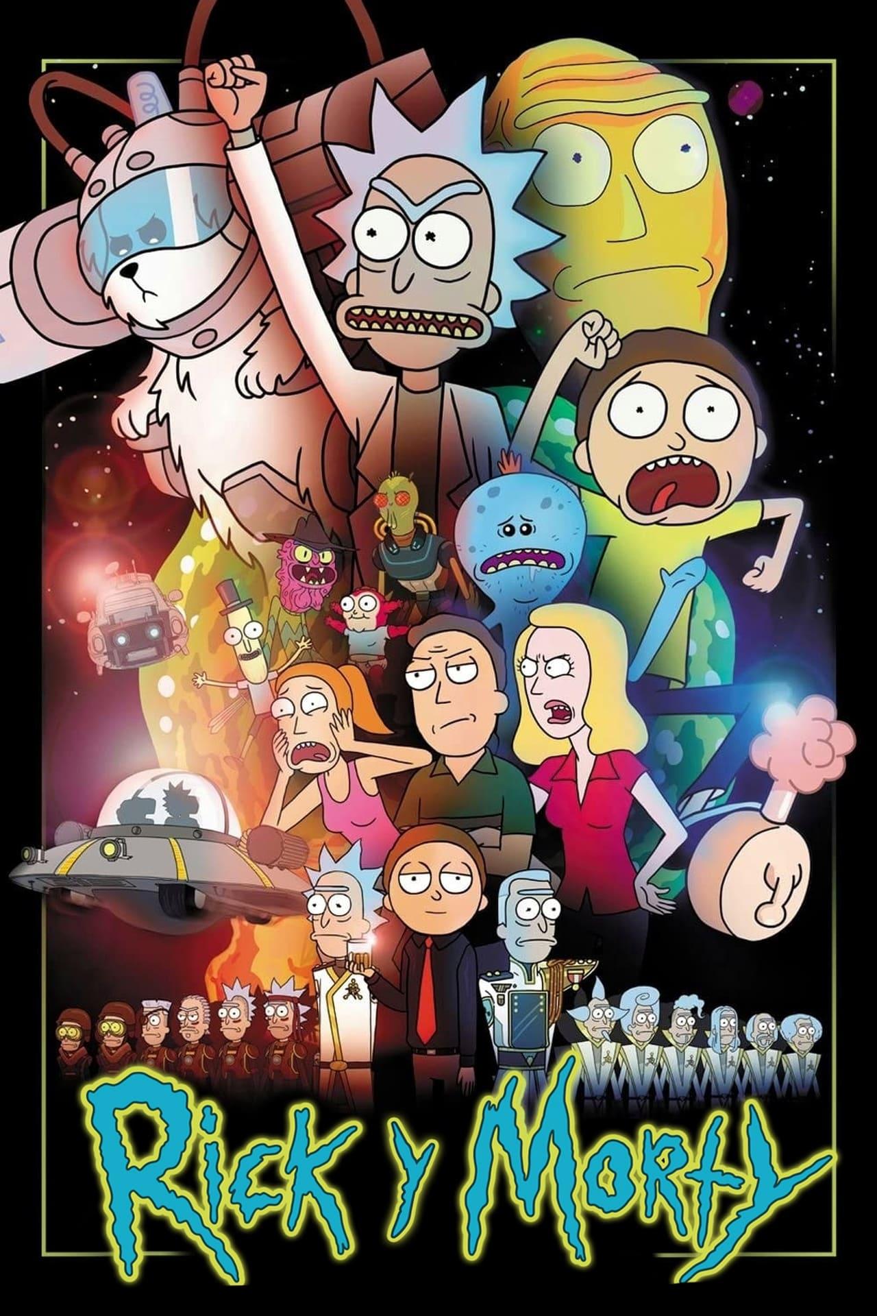 Rick y Morty - Season 3 Episode 1 : Cadena Rickpetua