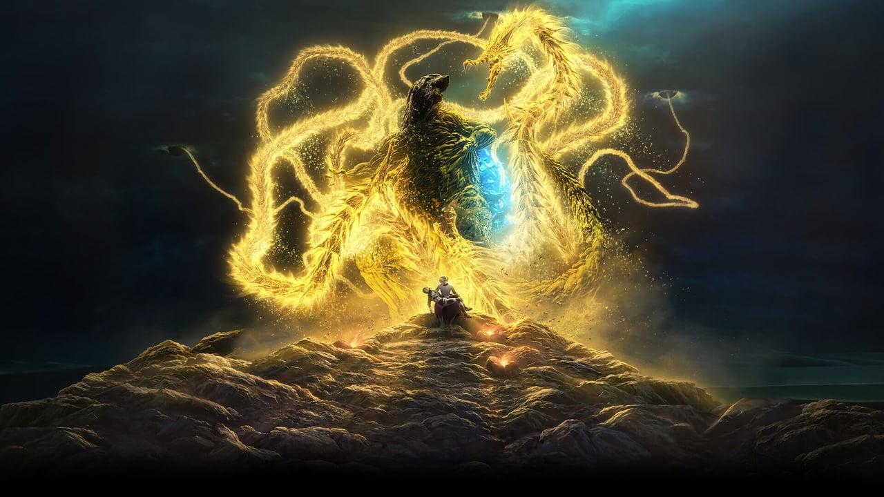 Wallpaper Filme Godzilla: O Devorador de Planetas