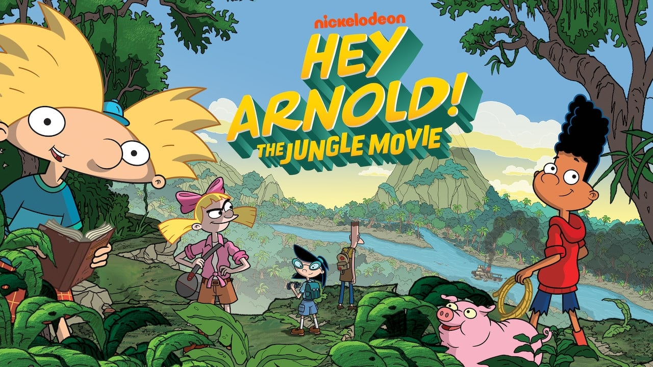 cover-¡Hey Arnold! Una peli en la jungla