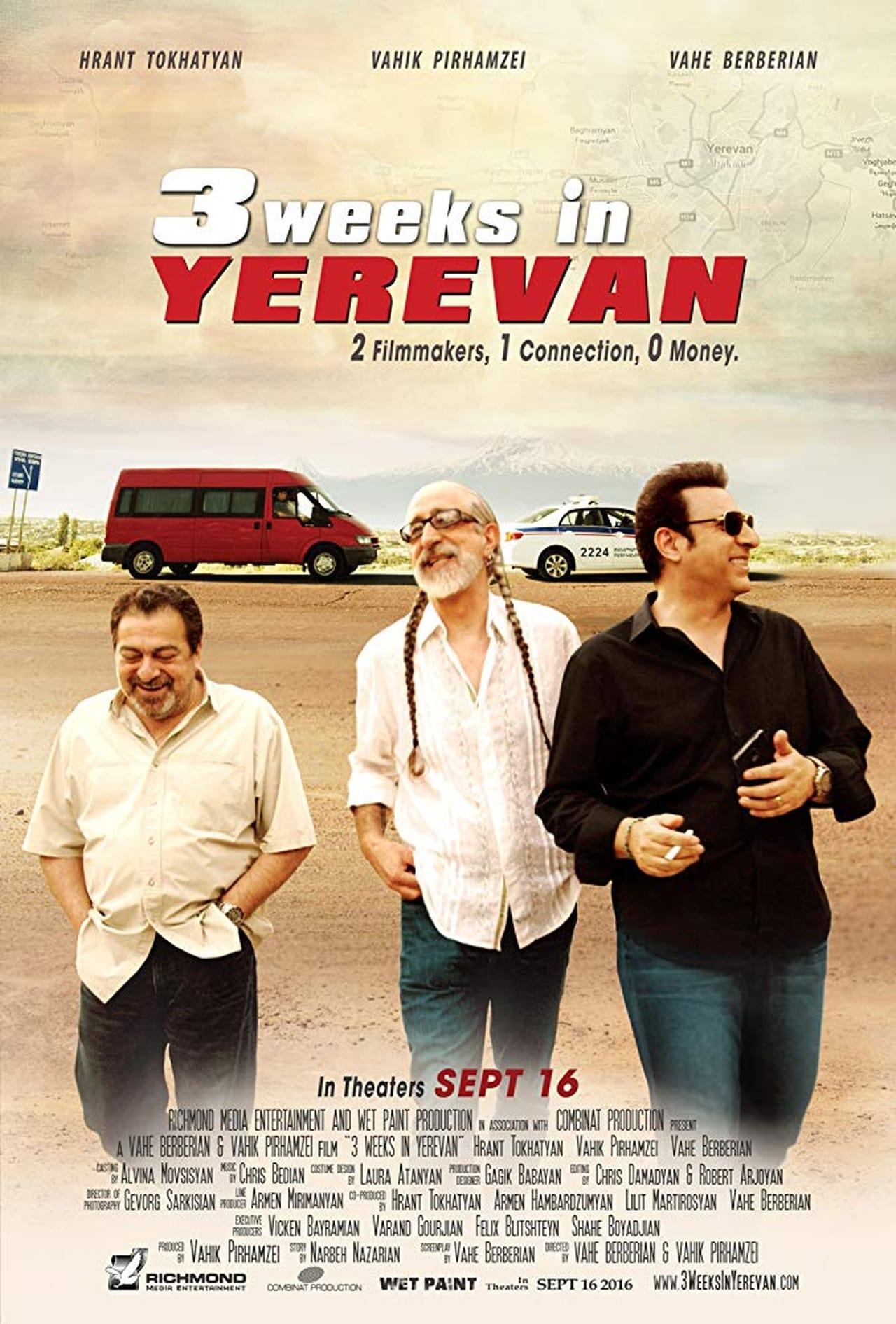 3 Weeks in Yerevan