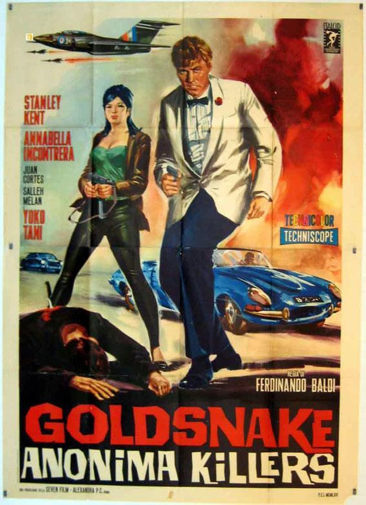 Goldsnake: Anonima killers