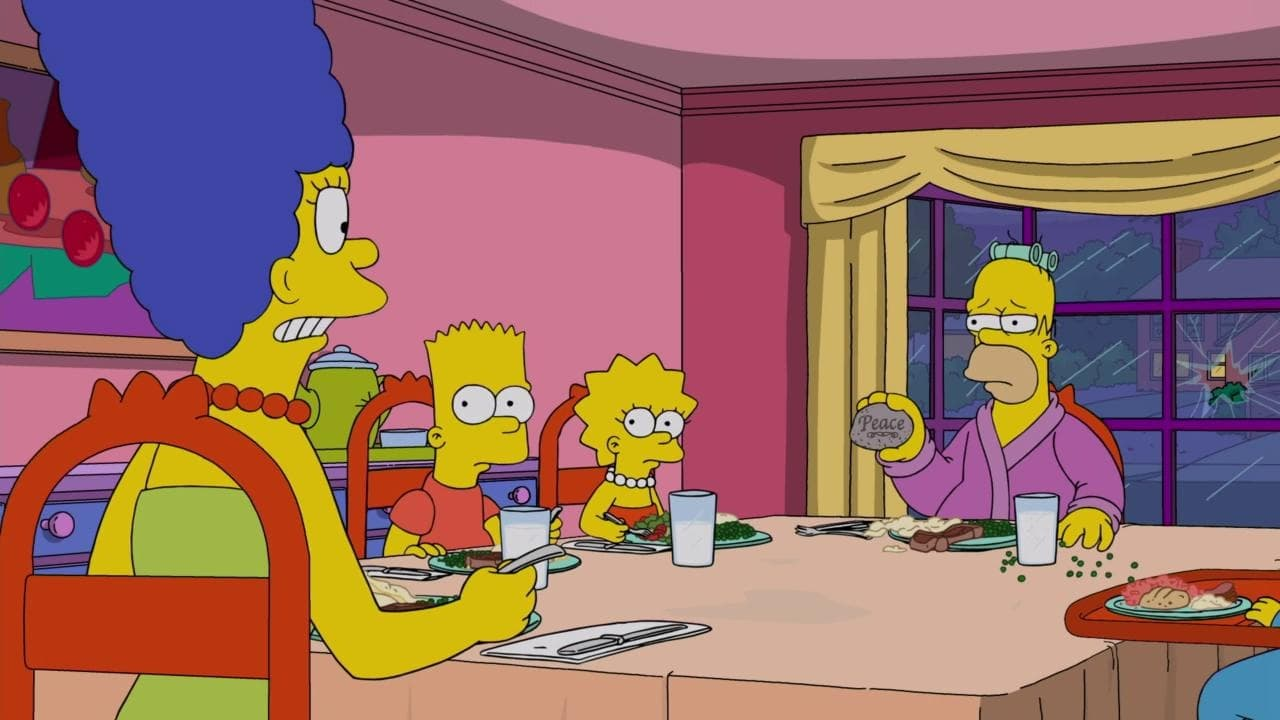 The Simpsons - Season 30 Episode 23 : Crystal Blue-Haired Persuasion