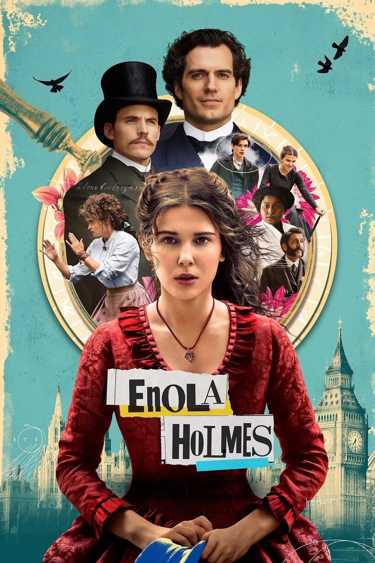 Download NetFlix Enola Holmes (2020) Dual Audio {Hindi-English} WeB-DL 480p [350MB] || 720p [1GB] || 1080p [3.3GB]