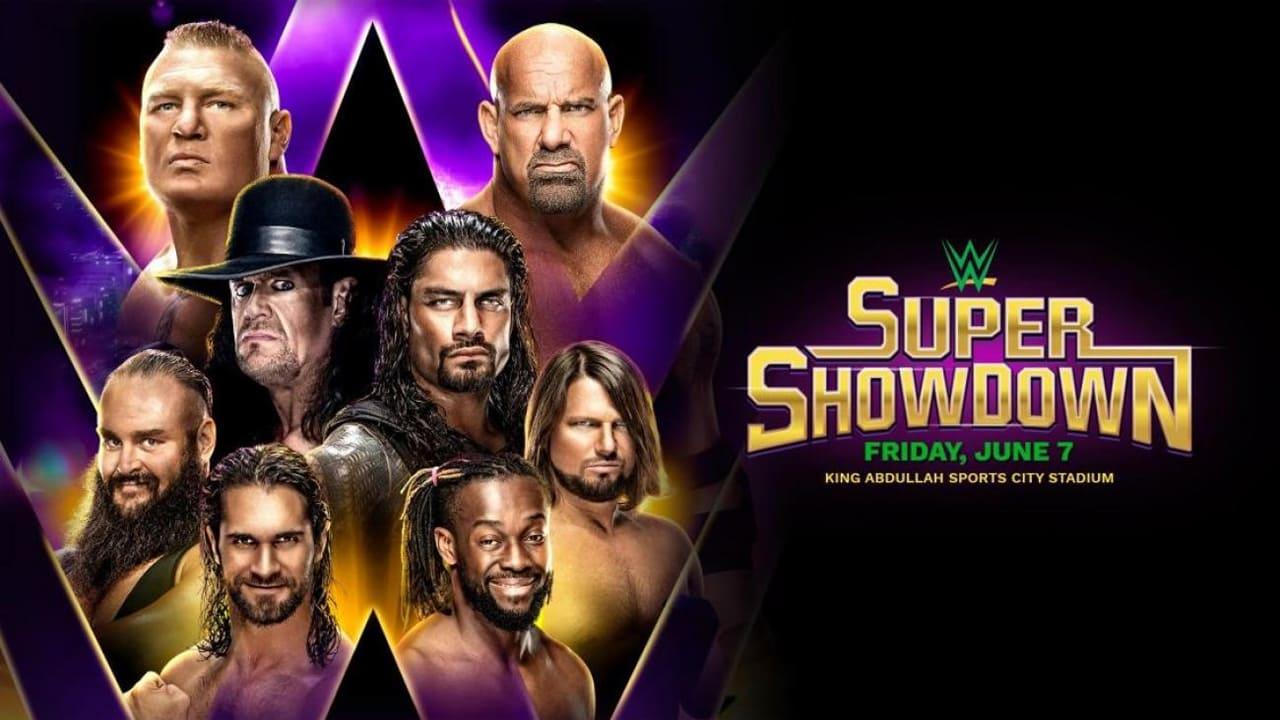 cover-WWE Super Showdown 2019