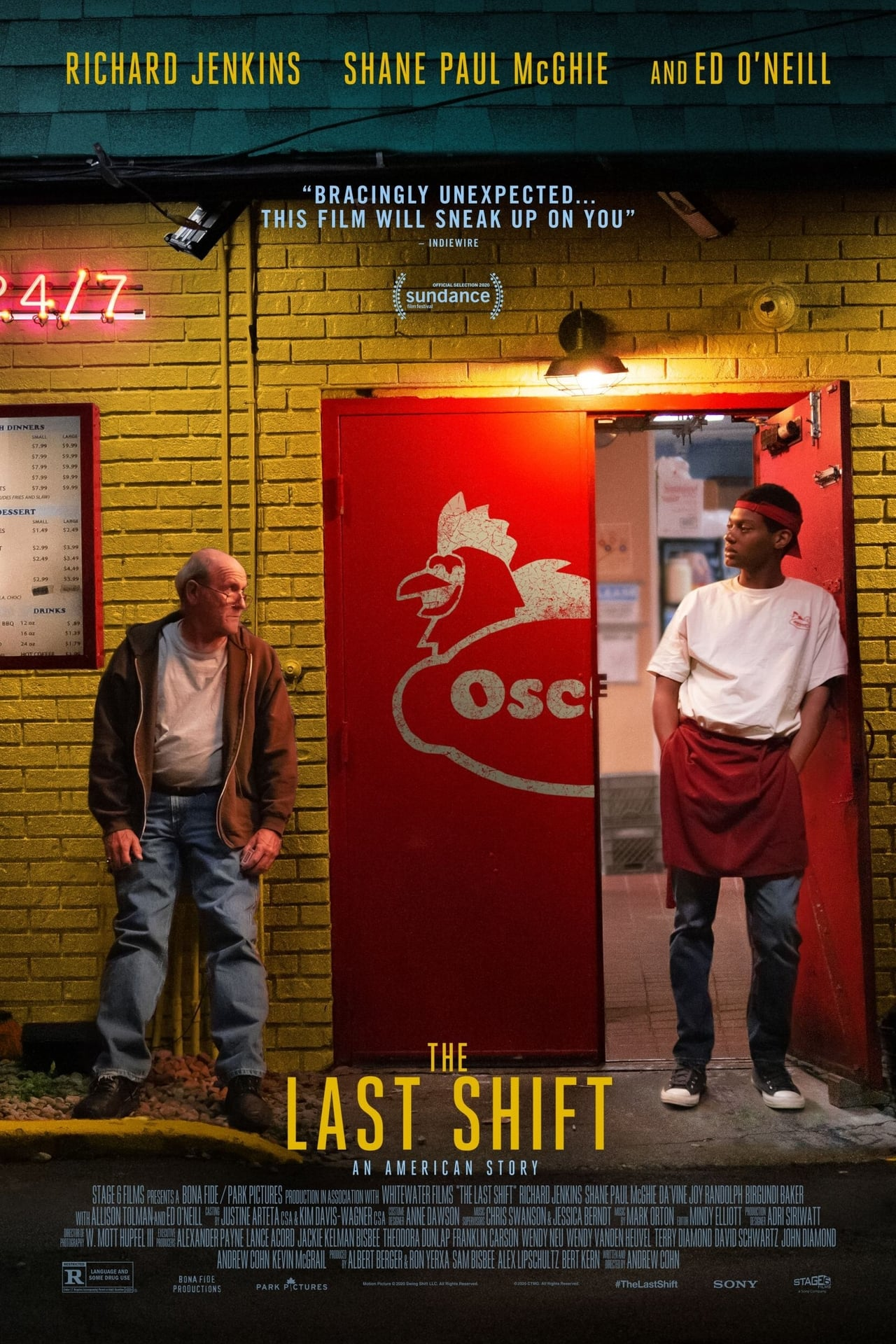 Watch The Last Shift (2020) Movie Trailer at thrill.movieonrails.com