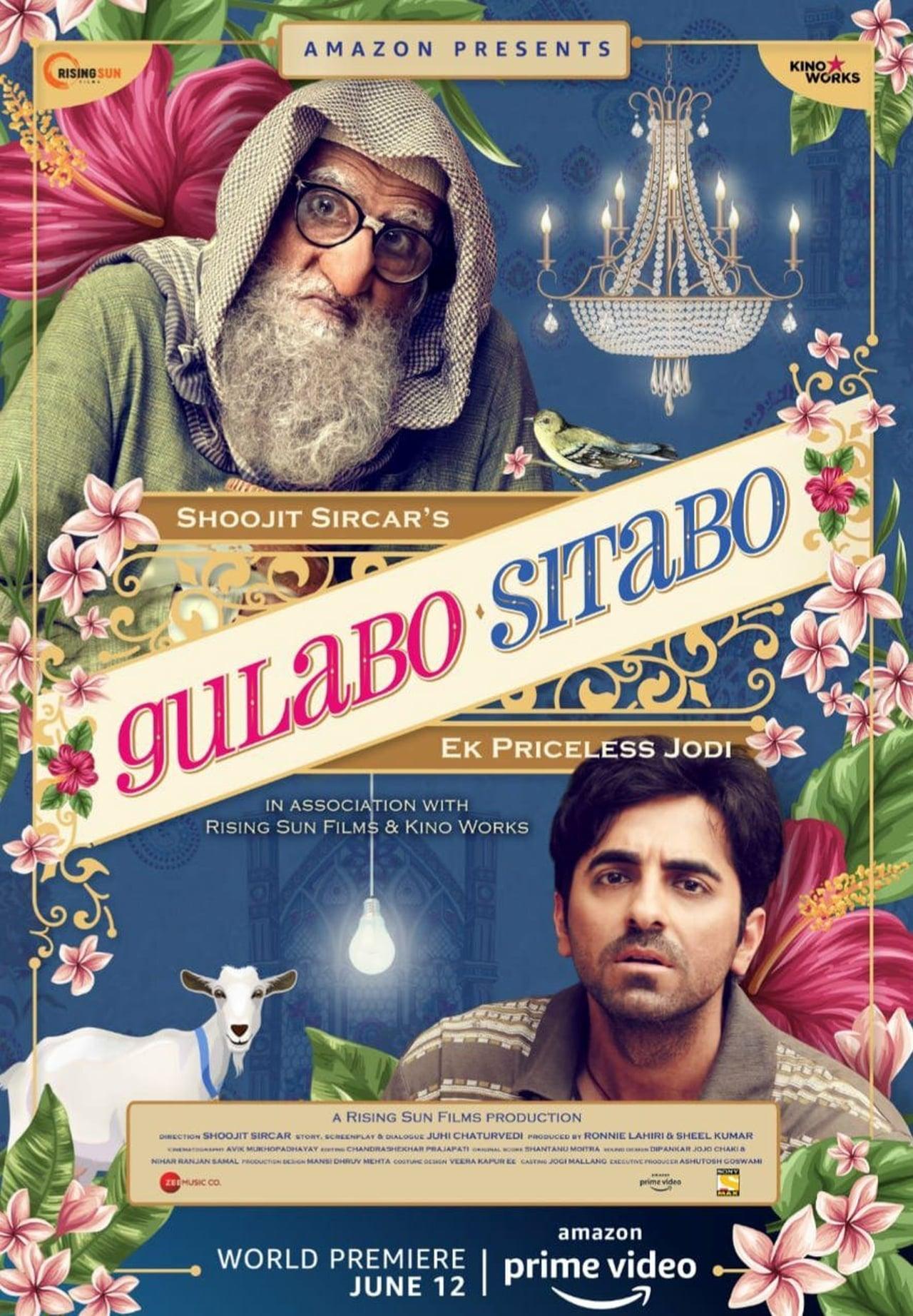 Gulabo Sitabo | 2020 | Hindi | 1080p | 720p | AMZN WEB-DL