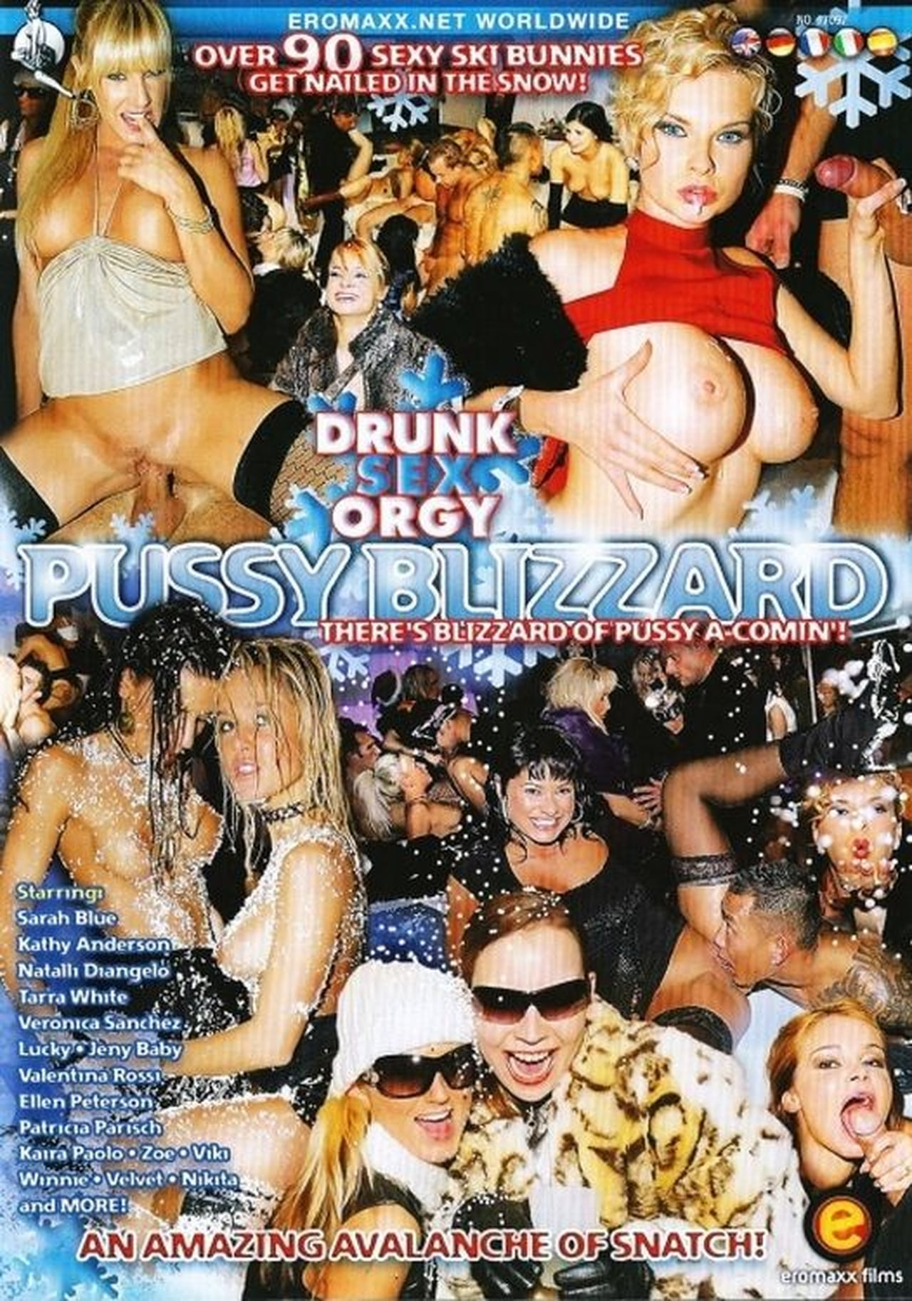 Drunk Sex Orgy: Pussy Blizzard