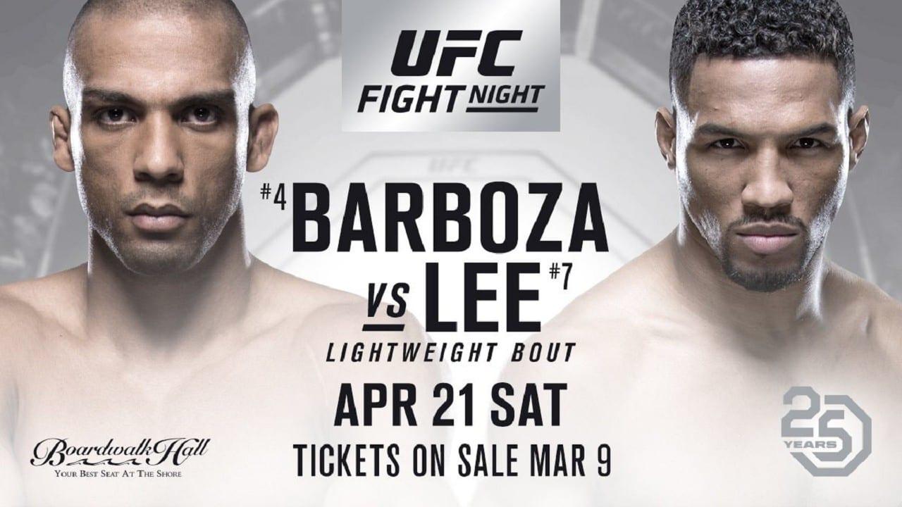 UFC Fight Night 128: Barboza vs. Lee 1