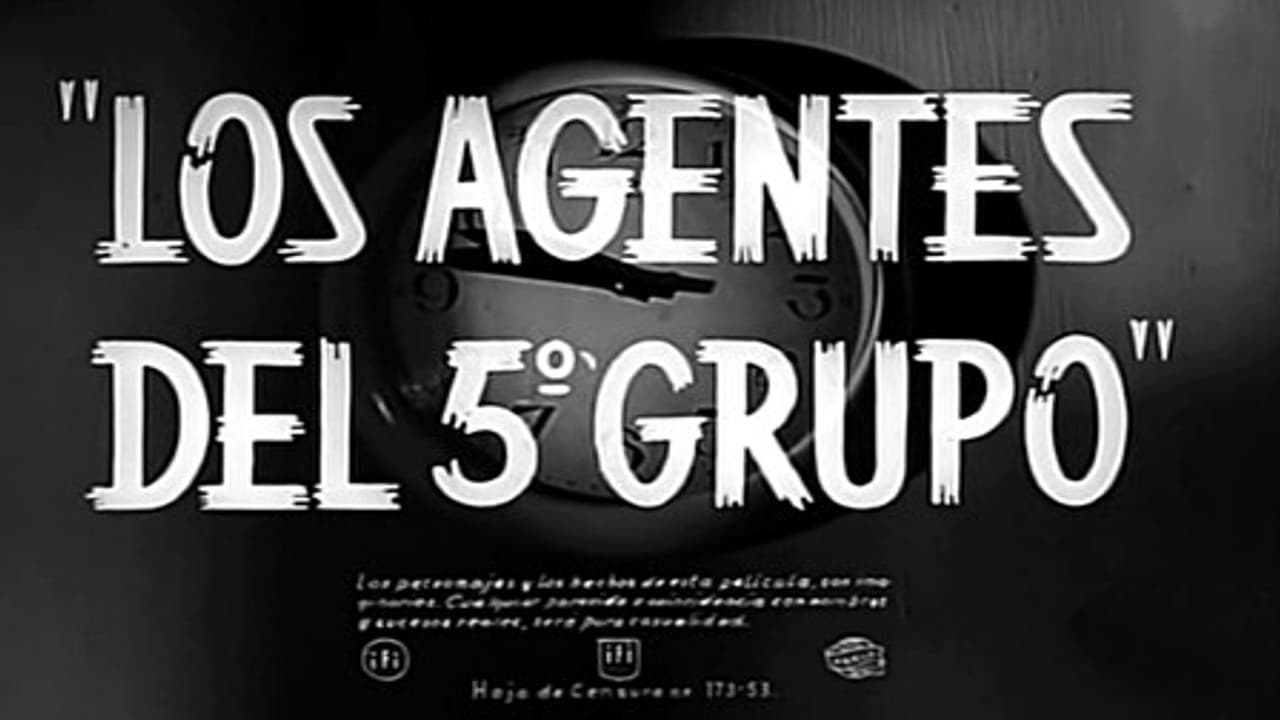 Los agentes del 5º grupo (1955)