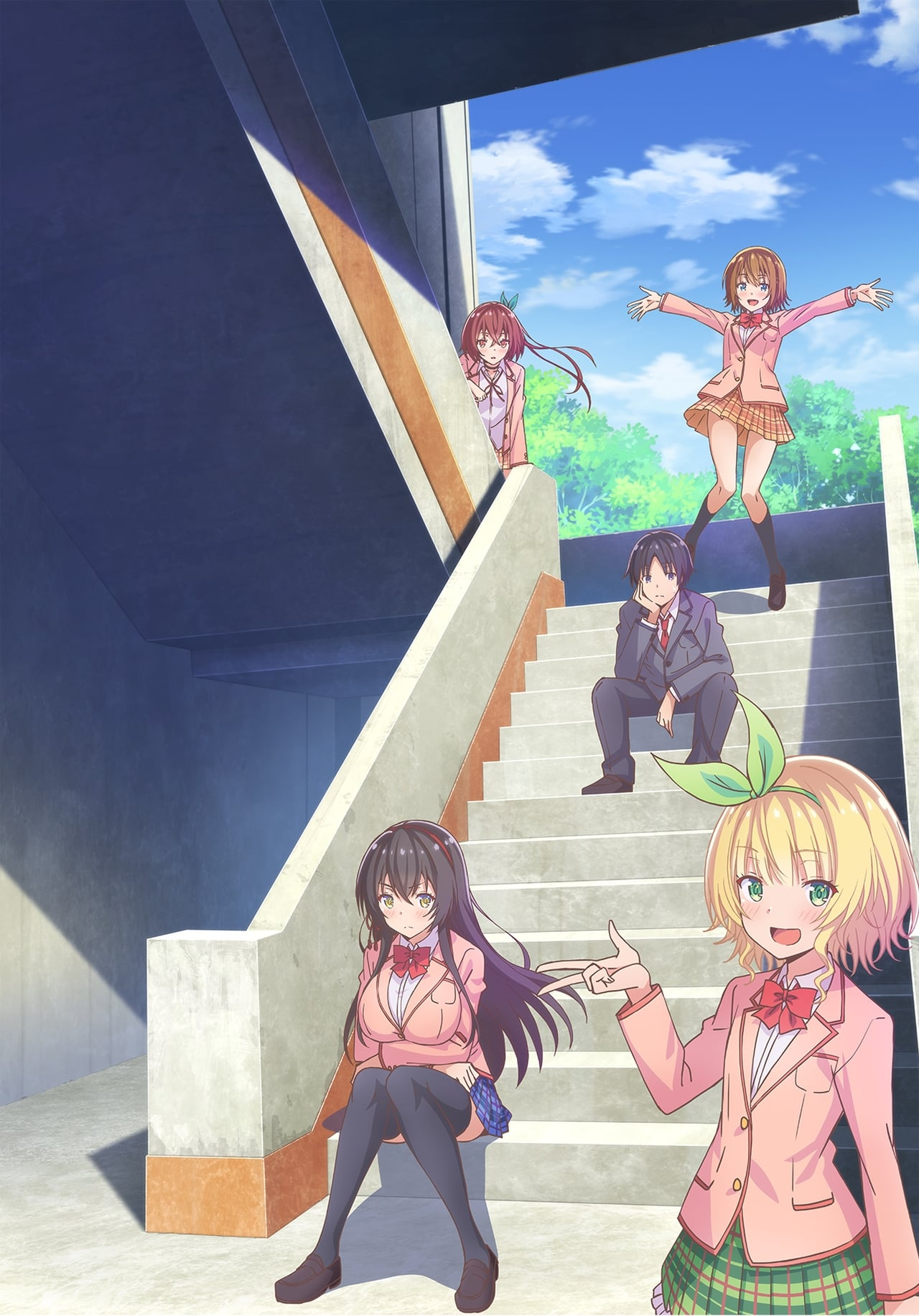 Hensuki: Are You Willing To Fall In Love With A Pervert, As Long As She`s A Cutie? Season 1