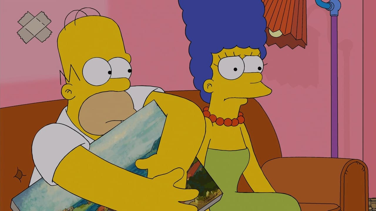 The Simpsons - Season 25 Episode 15 : The War of Art