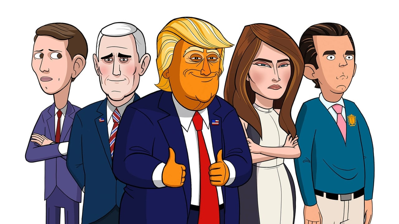 cover-Our Cartoon President