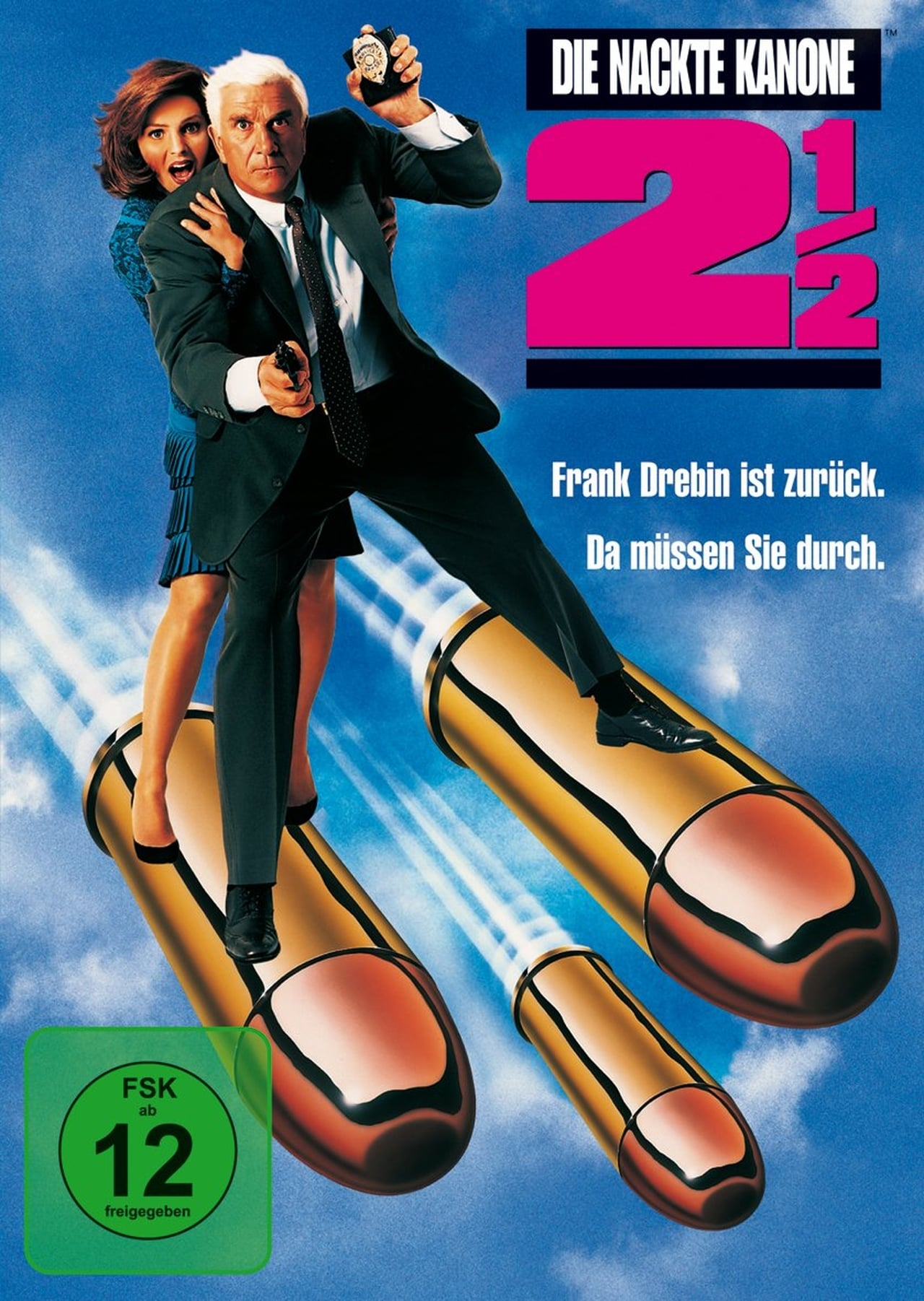 The Naked Gun 2½: The Smell of Fear (1991) vhs movie cover