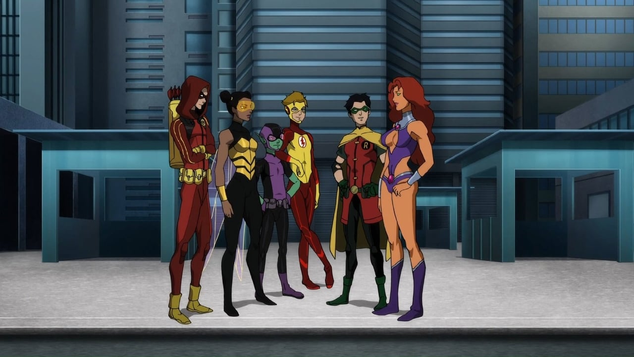 Teen Titans: The Judas Contract BackDrop