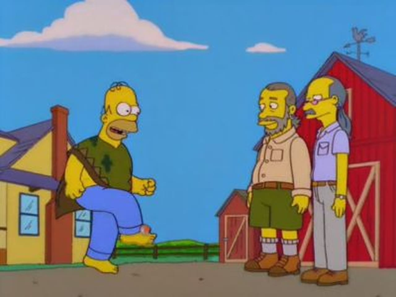 The Simpsons - Season 10 Episode 6 : D'Oh-in' in the Wind