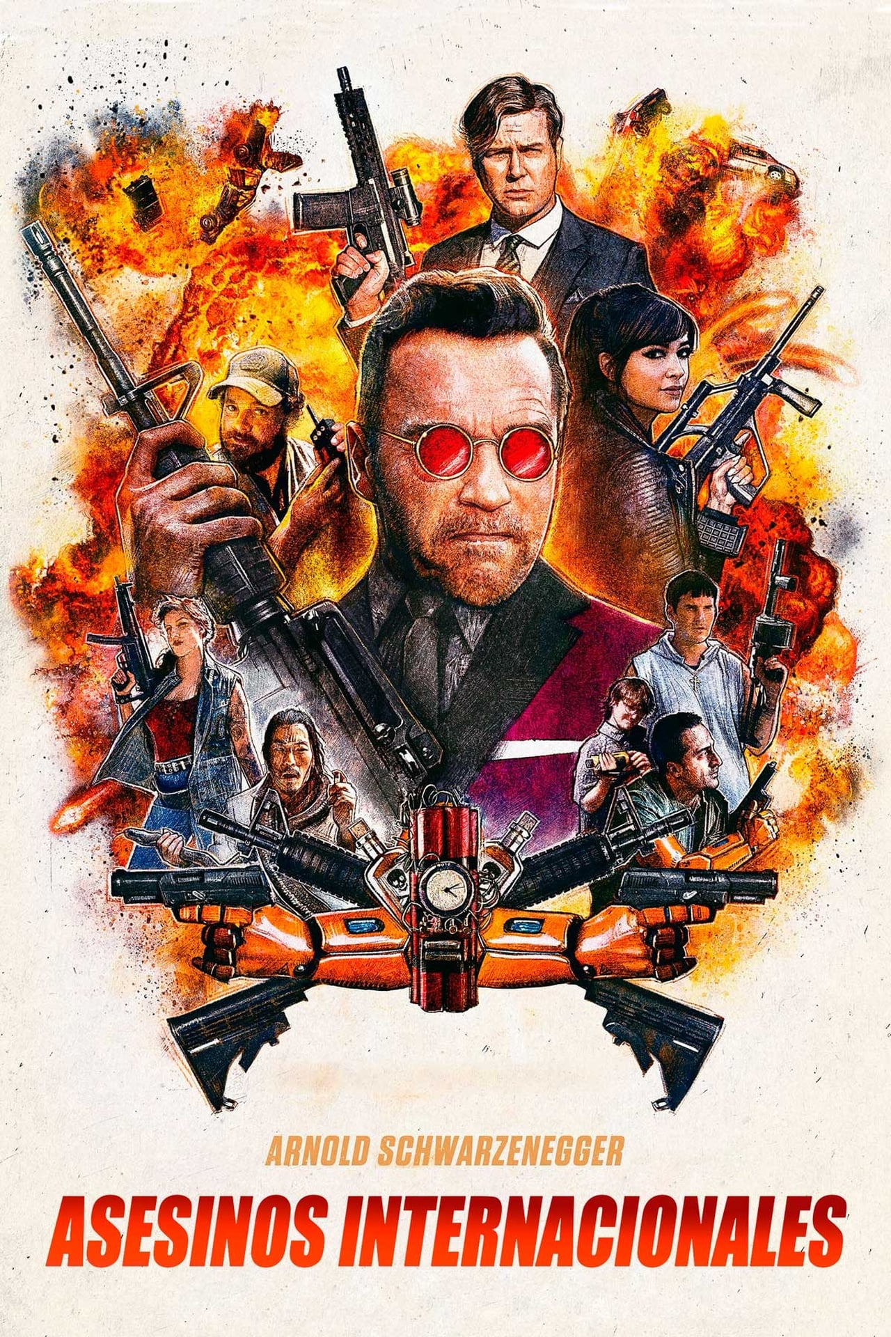 Asesinos internacionales  (Killing Gunther) ()