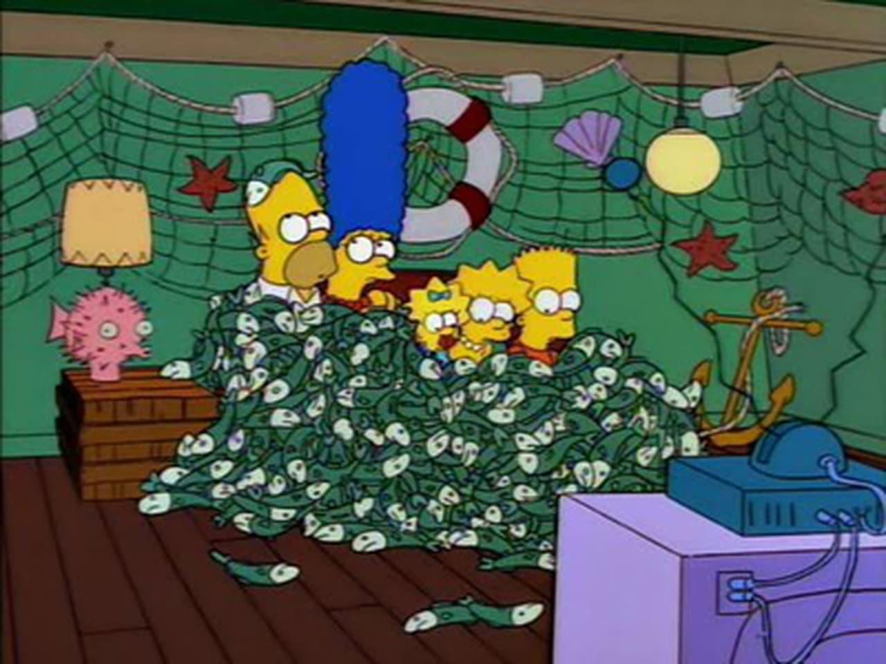 The Simpsons - Season 5 Episode 2 : Cape Feare
